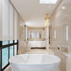 140平米别墅现代简约风格卫生间欣赏图