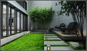 120平米复式现代简约风格阳光房装修效果图