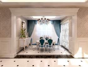 140平米復式歐式風格餐廳圖片大全