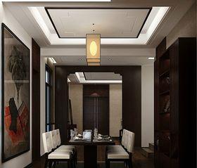 3-5万130平米四室两厅中式风格餐厅装修案例