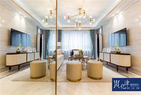 10-15万140平米四室四厅现代简约风格客厅图片大全