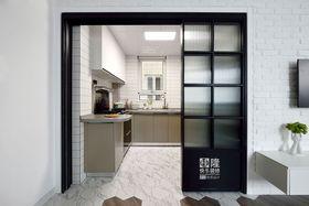 80平米北欧风格厨房装修图片大全