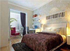 5-10万60平米公寓现代简约风格卧室图