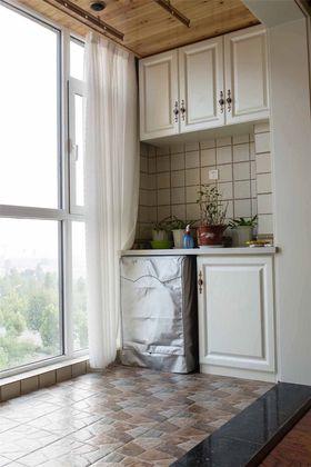 豪华型100平米三室两厅法式风格阳台装修效果图