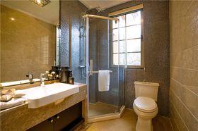 140平米三室两厅中式风格卫生间图