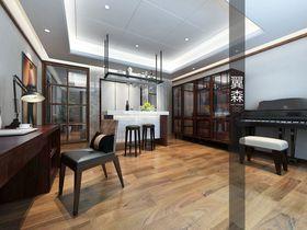 20万以上140平米四室三厅中式风格书房装修效果图