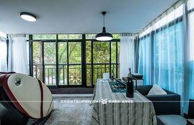 130平米三室两厅北欧风格阳光房装修案例