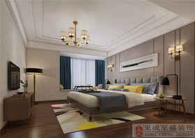 140平米三北欧风格卧室设计图