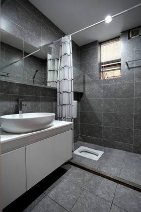 130平米北欧风格卫生间装修案例