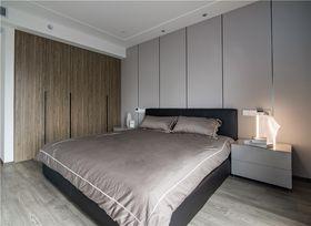 140平米公寓现代简约风格卧室装修案例