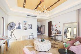 120平米宜家风格客厅设计图