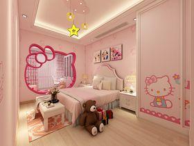 140平米复式混搭风格儿童房装修效果图