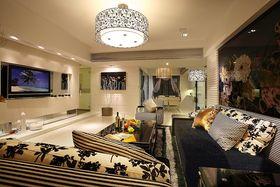 90平米三室一厅现代简约风格其他区域设计图