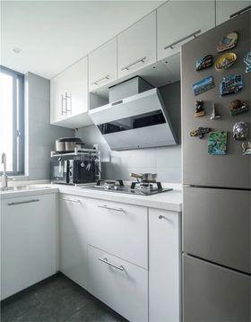 60平米現代簡約風格廚房圖片大全