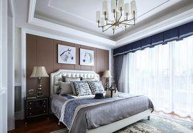 110平米三室兩廳法式風格臥室圖