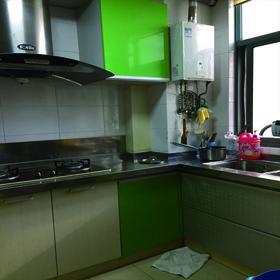 30平米以下超小户型现代简约风格厨房效果图