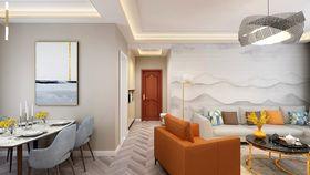 100平米三室两厅其他风格走廊设计图