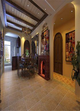 140平米四室三厅地中海风格玄关图片大全