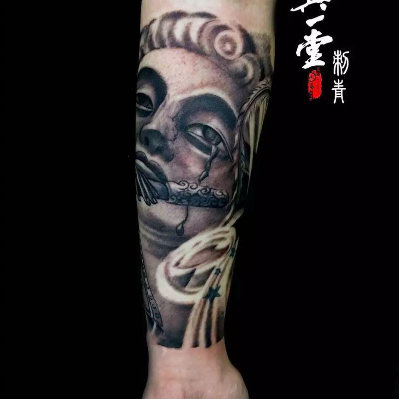 包小臂3500元纹身款式图
