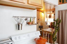 80平米一室一厅北欧风格厨房图片