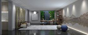 140平米别墅新古典风格健身室图