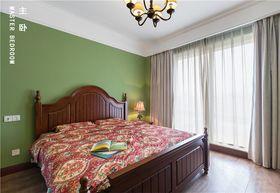 100平米三室两厅东南亚风格卧室效果图