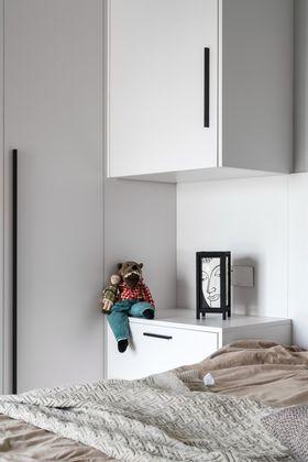 豪华型80平米现代简约风格儿童房图片大全