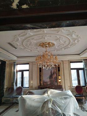 140平米別墅法式風格客廳圖片
