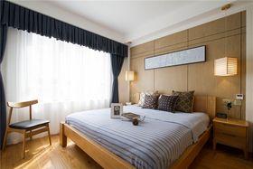 富裕型90平米三室两厅日式风格卧室效果图