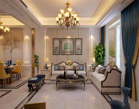 100平米欧式风格客厅设计图