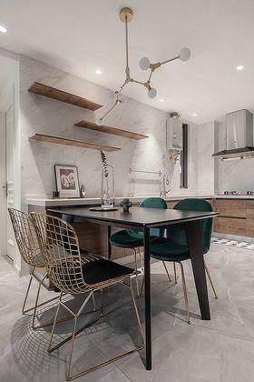 90平米三室两厅法式风格餐厅装修效果图