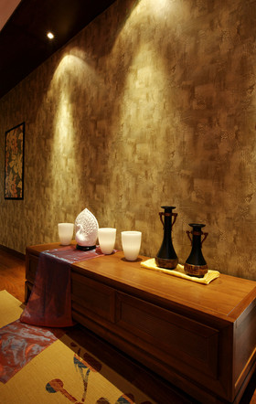 120平米三室两厅东南亚风格其他区域图