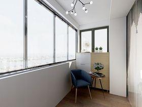 110平米三室两厅欧式风格阳台效果图