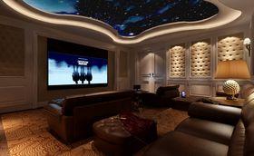 20万以上140平米别墅新古典风格影音室图片大全