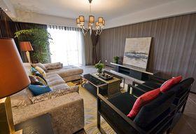 50平米小户型中式风格客厅设计图