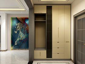 140平米三室两厅混搭风格玄关图