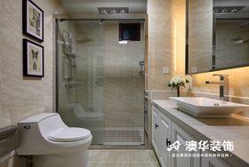110平米三室两厅混搭风格卫生间图