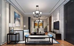 30平米以下超小户型中式风格客厅装修效果图