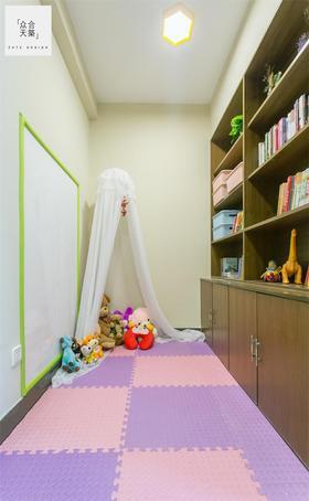 140平米四室两厅混搭风格儿童房效果图