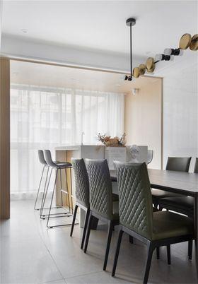 140平米四现代简约风格餐厅欣赏图