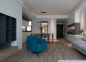 110平米一居室现代简约风格客厅图片大全