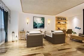 5-10万40平米小户型中式风格卧室装修案例