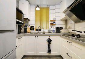 3-5万80平米北欧风格厨房装修效果图