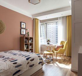 90平米三室两厅日式风格卧室图片大全