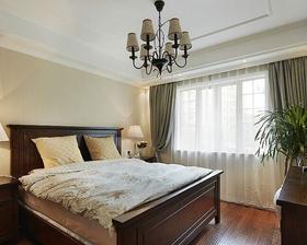 5-10万130平米三室两厅美式风格卧室装修效果图