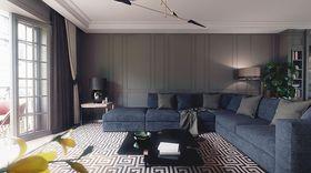 120平米三室一厅欧式风格客厅欣赏图