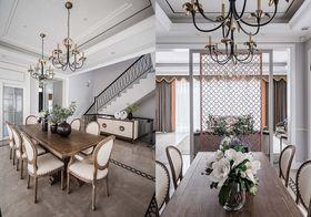 140平米别墅美式风格餐厅装修图片大全