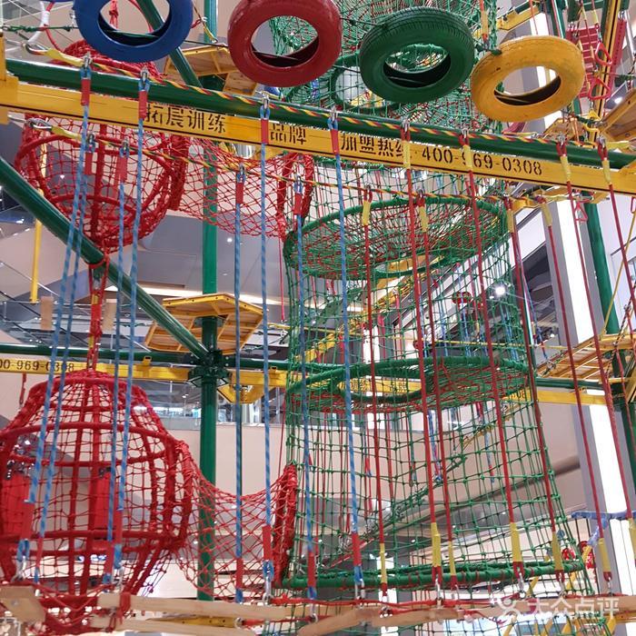 城堡探险儿童攀爬乐园图片-北京亲子乐园-大众点评网