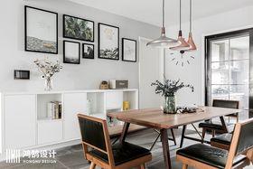 120平米现代简约风格餐厅设计图