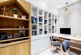 140平米四室两厅北欧风格书房图